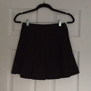 H&M Black mini skirt